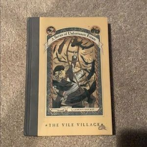 A Series of Unfortunate Events. The seventh book.